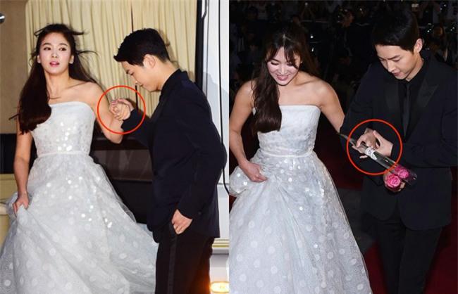 Cả thế giới ra đây mà xem, hoá ra Song Joong Ki vẫn luôn phân biệt đối xử Song Hye Kyo với các diễn viên nữ khác - Ảnh 2.