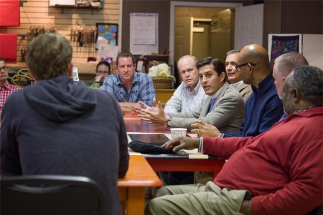 Zuckerberg đã tham dự cuộc thảo luận bàn tròn với linh mục ở Waco, Texas.