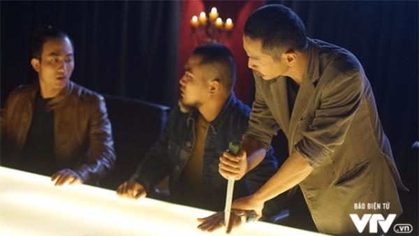 Người phán xử, Việt Anh, Đan Lê, phim truyền hình, phim Việt Nam, làng sao