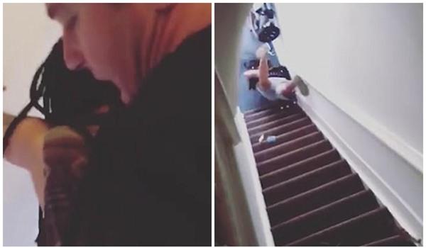 Không trả phòng đúng giờ, nữ du khách Nam Phi bị chủ nhà trọ đẩy ngã từ cầu thang xuống đất - Ảnh 2.