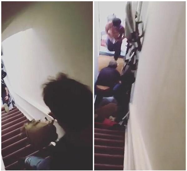 Không trả phòng đúng giờ, nữ du khách Nam Phi bị chủ nhà trọ đẩy ngã từ cầu thang xuống đất - Ảnh 3.