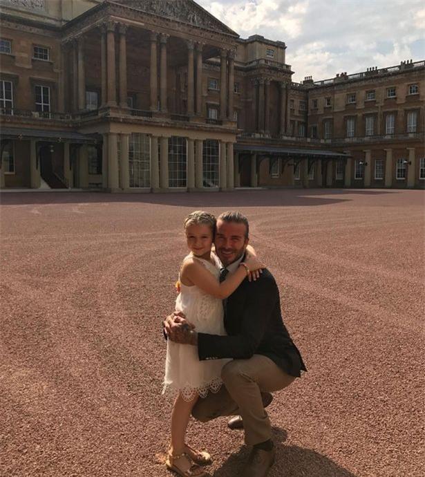 Tranh cãi quanh việc bé Harper được ưu ái đón tuổi mới tại Cung điện Buckingham - Ảnh 3.