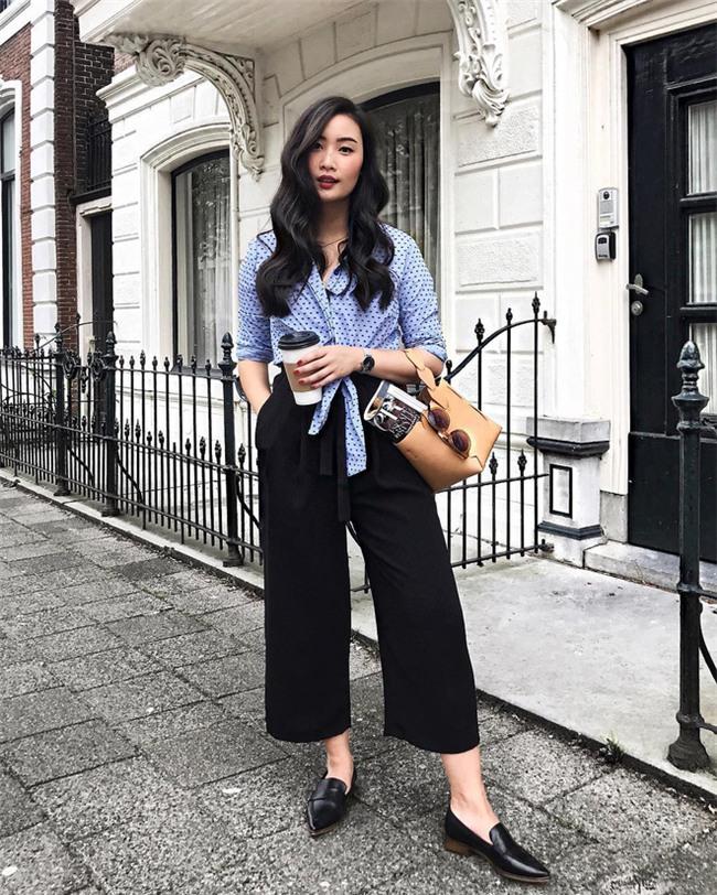 Muốn mặc đẹp như fashionista châu Á, hãy cứ trung thành với phong cách đơn giản! - Ảnh 3.