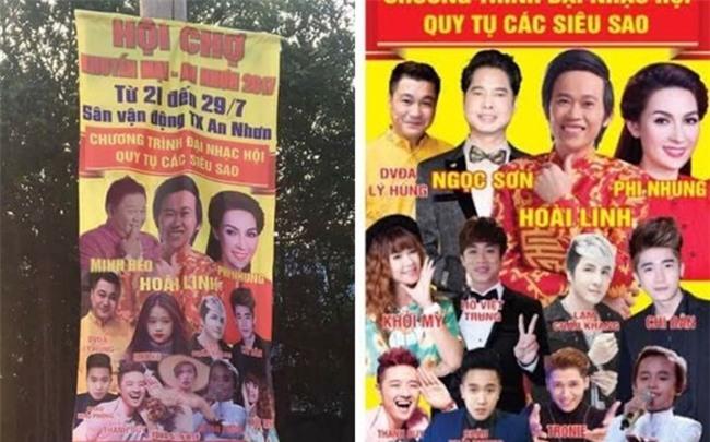Thuc hu tin Minh Beo dien chung show voi Hoai Linh, Phi Nhung hinh anh 1