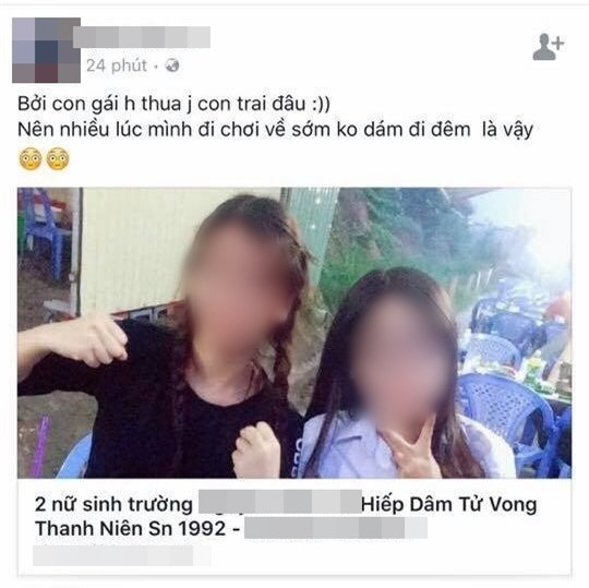 An ninh mạng vào cuộc truy tìm kẻ đăng tin vu khống 2 nữ sinh hiếp dâm nam thanh niên đến chết - Ảnh 1.