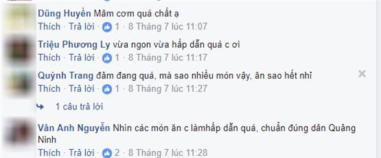 "ba noi tro 8x khoe nhung mam com gia dinh ""dung chuan quang ninh"", ai nhin cung them - 2"