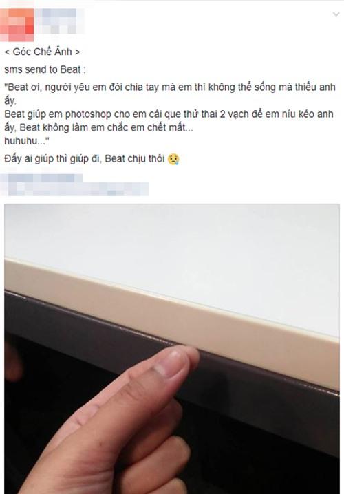 """muon niu keo ban trai, co gai len mang nho chinh anh """"que thu thai 2 vach"""" va cai ket khong the ngo - 1"""