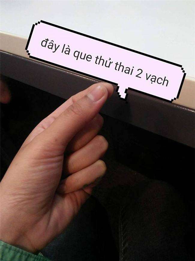 """muon niu keo ban trai, co gai len mang nho chinh anh """"que thu thai 2 vach"""" va cai ket khong the ngo - 11"""