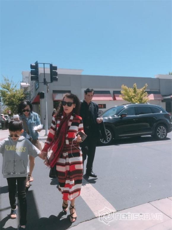 Hồ Ngọc Hà, Hồ Ngọc Hà và con trai, Hồ Ngọc Hà ở Mỹ, gia đình Hồ Ngọc Hà , ca sĩ Hồ Ngọc Hà
