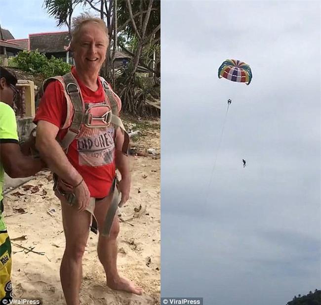 Thái Lan: Vợ vô tình quay lại toàn cảnh chồng thiệt mạng vì chơi dù bay trong kỳ nghỉ dưỡng ở Phuket - Ảnh 4.