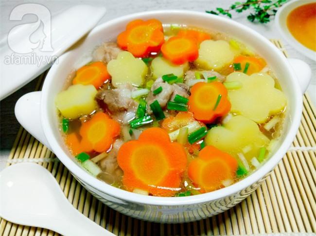2 món canh ngon đẹp đầy màu sắc cho bữa cơm mùa hè thêm hương vị - Ảnh 9.