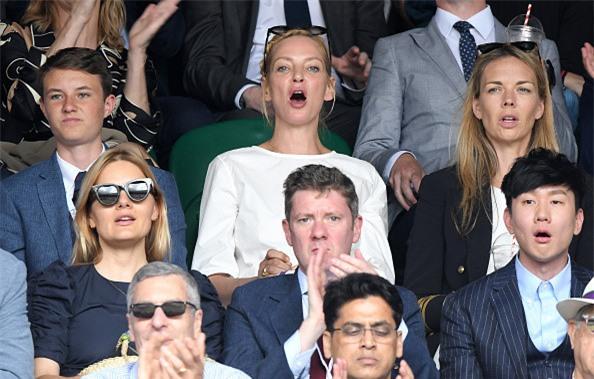 Dan khach VIP chung kien Federer lap chien cong vi dai hinh anh 11