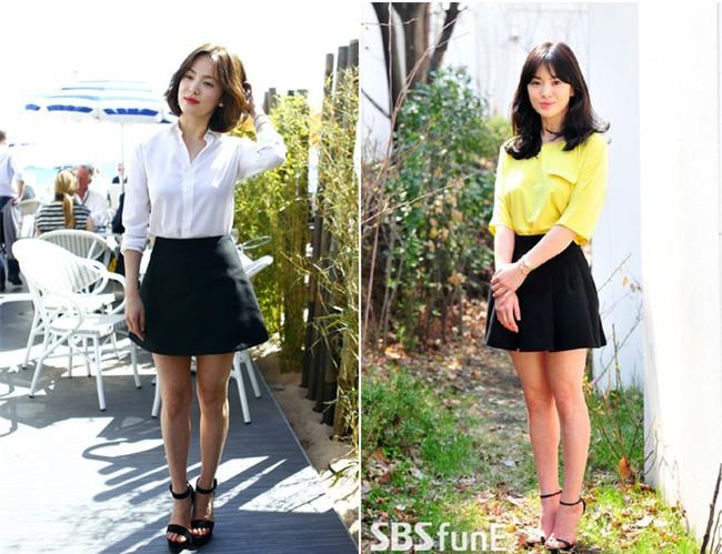 Vóc dáng thấp bé nhưng Song Hye Kyo vẫn luôn mặc đẹp nhờ vào 5 bí kíp này - Ảnh 1.