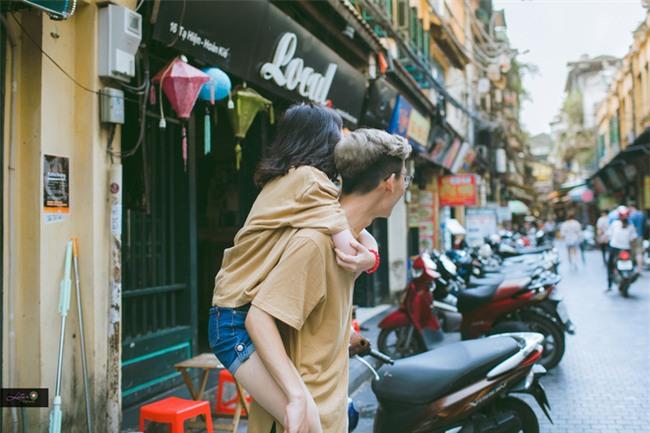 Từ bộ ảnh nàng 1m48 yêu chàng 1m80 gây sốt: Có một chuyện tình cọc đi tìm trâu rất đáng yêu - Ảnh 3.