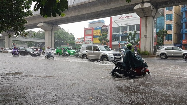 Áp thấp nhiệt đới, Tin bão mới nhất, Cơn bão số 2, mưa lớn, ngập Hà Nội
