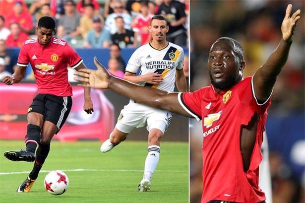 HLV Mourinho muốn sử dụng đồng thời Rashford và Lukaku trên hàng công