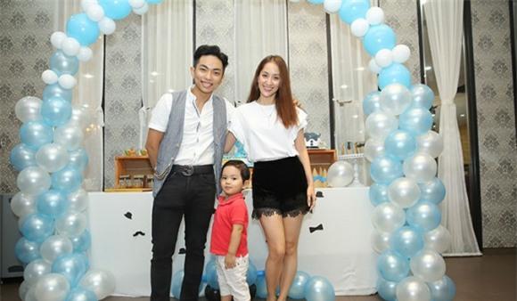 chuyện làng sao,nhí,Khánh Thi,Phan Hiển,sinh nhật Kubi