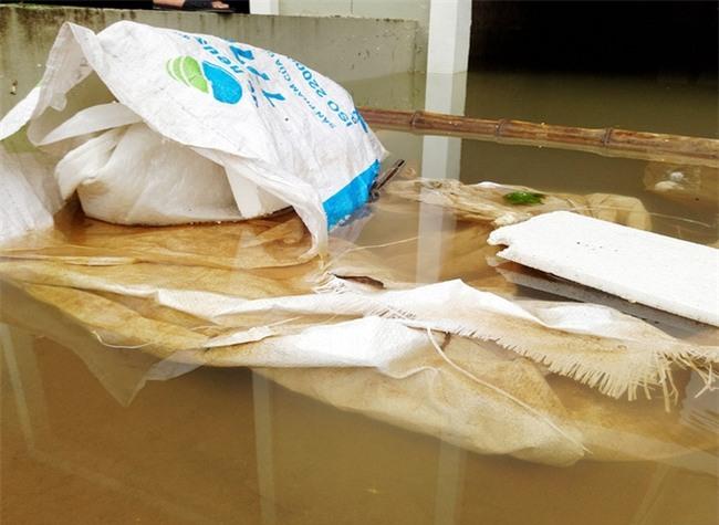 Hà Nội: Sau 1 ngày mưa bão, hàng chục căn biệt thự tại Thiên đường Bảo Sơn vẫn ngập chìm trong nước - Ảnh 14.