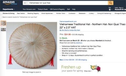 vải thiều, tía tô, nông sản Việt, chổi chít, amazon, nông sản xuất khẩu