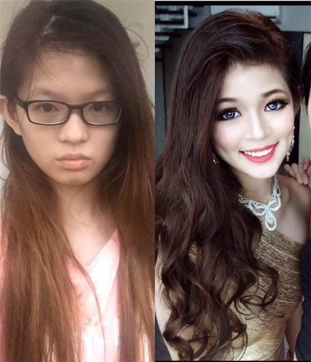 """Vỡ mộng vì mặt mộc, dáng """"một mẩu"""" của Hoa hậu Bikini châu Á 2016 - 1"""