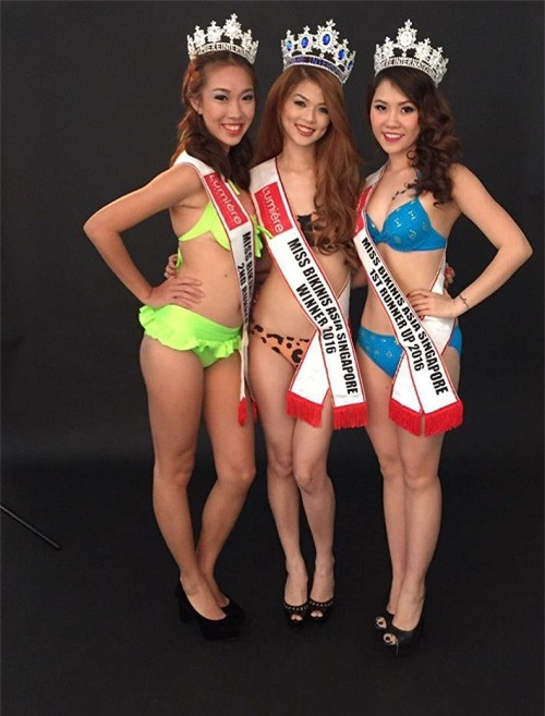"""Vỡ mộng vì mặt mộc, dáng """"một mẩu"""" của Hoa hậu Bikini châu Á 2016 - 3"""