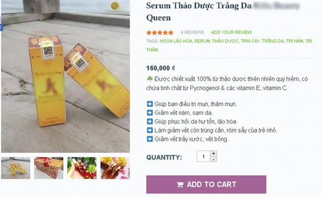 Cho con uống serum dưỡng da để chứng minh sự lành tính - Chiêu trò quảng cáo mới của các shop bán hàng online - Ảnh 3.