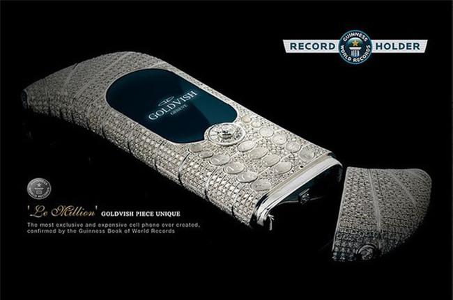 Không phải Vertu, đây mới là dòng điện thoại đắt đỏ bậc nhất thế giới được Guiness công nhận: Đến đại gia cũng phải săn đón - Ảnh 1.
