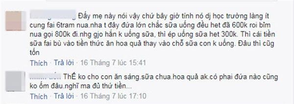 """nuoi 2 con chua den 2 trieu dong/ thang, me bim sua khien dan mang """"nhay dung"""" vi hu cau - 4"""