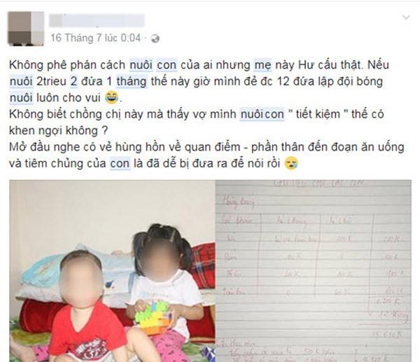 """nuoi 2 con chua den 2 trieu dong/ thang, me bim sua khien dan mang """"nhay dung"""" vi hu cau - 6"""