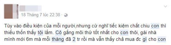 """nuoi 2 con chua den 2 trieu dong/ thang, me bim sua khien dan mang """"nhay dung"""" vi hu cau - 7"""