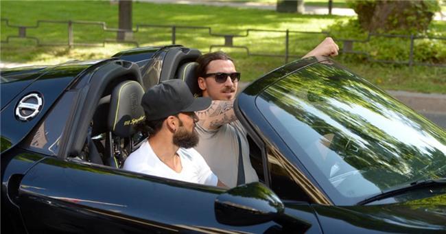 Zlatan Ibrahimovic tau sieu xe trieu do LaFerrari hinh anh 6