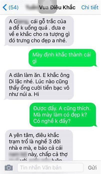 "tin tuong giao khuc go quy cho ""vua dieu khac"", anh chang nhan cai ket ""cuoi ra nuoc mat"" - 2"