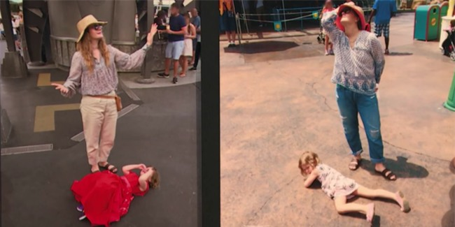 Mặc con gào khóc lăn lộn ở công viên, bà mẹ minh tinh này khiến nhiều người thán phục bởi cách dạy con quá hay - Ảnh 2.