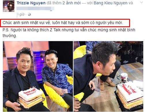 Trizze Phương Trinh tiết lộ Bằng Kiều đã chia tay Dương Mỹ Linh -2