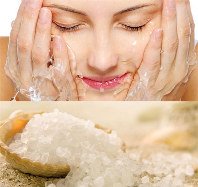 Rửa mặt bằng nước muối có bắt nắng không?