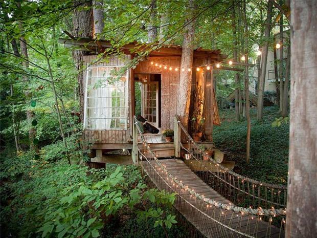 Bên trong ngôi nhà trên cây mộng mơ đang gây sốt trên Airbnb, hàng trăm nghìn người muốn được tới thăm một lần - Ảnh 3.