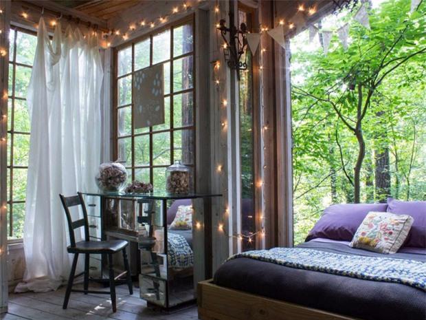 Bên trong ngôi nhà trên cây mộng mơ đang gây sốt trên Airbnb, hàng trăm nghìn người muốn được tới thăm một lần - Ảnh 9.