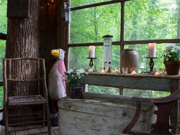 Bên trong ngôi nhà trên cây mộng mơ đang gây sốt trên Airbnb, hàng trăm nghìn người muốn được tới thăm một lần - Ảnh 11.