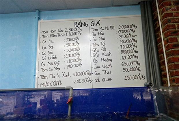 Du khách tố bị chặt chém hơn 6 triệu đồng cho một bữa ăn, nhà hàng hải sản ở Đà Nẵng nói gì? - Ảnh 5.
