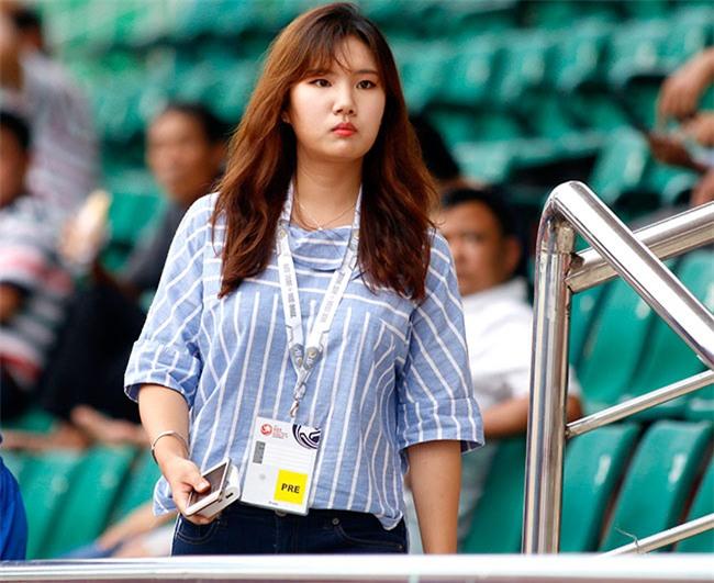 """Nữ phóng viên xinh đẹp Hàn Quốc """"phải lòng"""" Công Phượng - 3"""