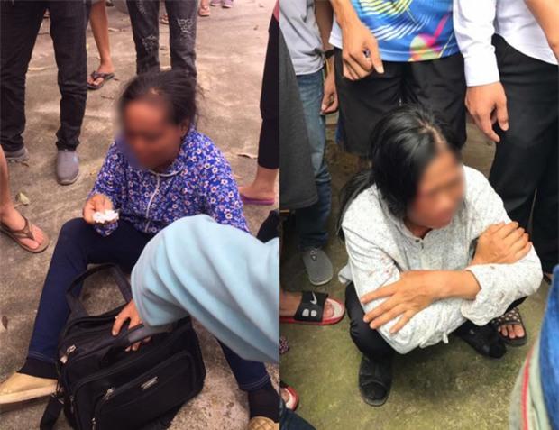Công an triệu tập nhiều người hành hung 2 người phụ nữ bán tăm vì nghi bắt cóc trẻ em - Ảnh 1.