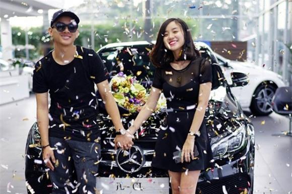 Võ Nguyễn Hoài Lâm,sinh nhật Hoài Lâm, Hoài Lâm và bạn gái Bảo Ngọc, sao Việt