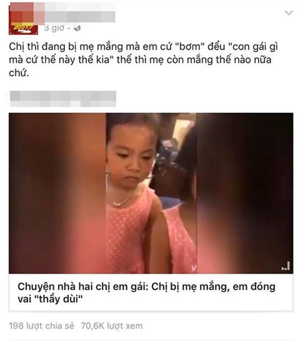 """nguoi me soc nang sau khi dang clip """"phan xu"""" 2 con gai bi cong dong mang xuyen tac - 4"""