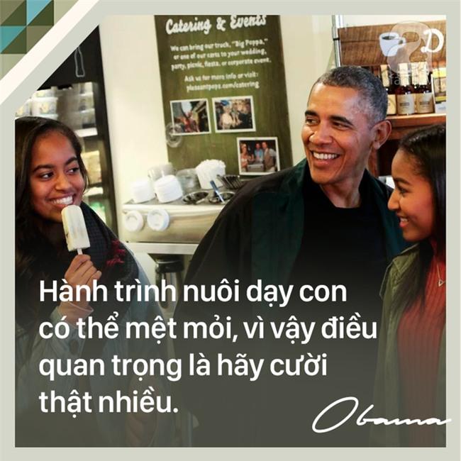 7 quy tắc nuôi dạy con trên cả tuyệt vời của cựu Tổng thống Mỹ Barack Obama các bố mẹ nên học tập - Ảnh 2.