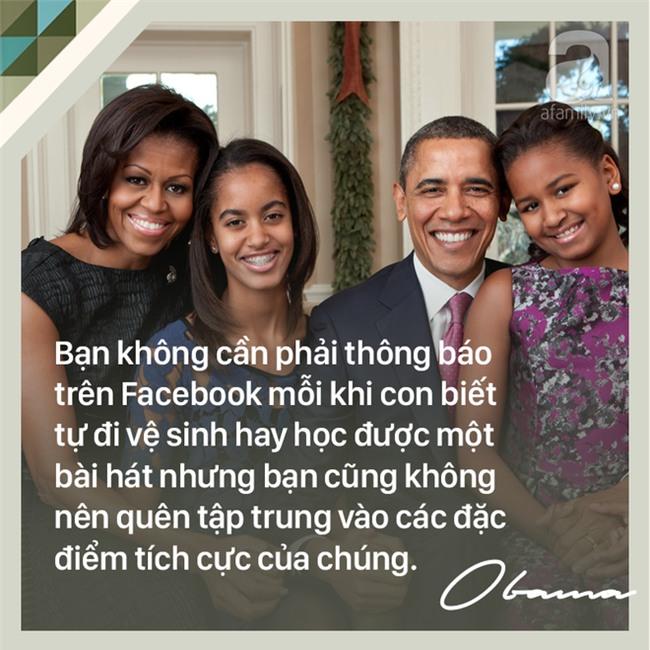 7 quy tắc nuôi dạy con trên cả tuyệt vời của cựu Tổng thống Mỹ Barack Obama các bố mẹ nên học tập - Ảnh 3.