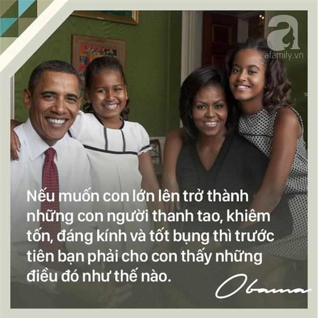 7 quy tắc nuôi dạy con trên cả tuyệt vời của cựu Tổng thống Mỹ Barack Obama các bố mẹ nên học tập - Ảnh 4.