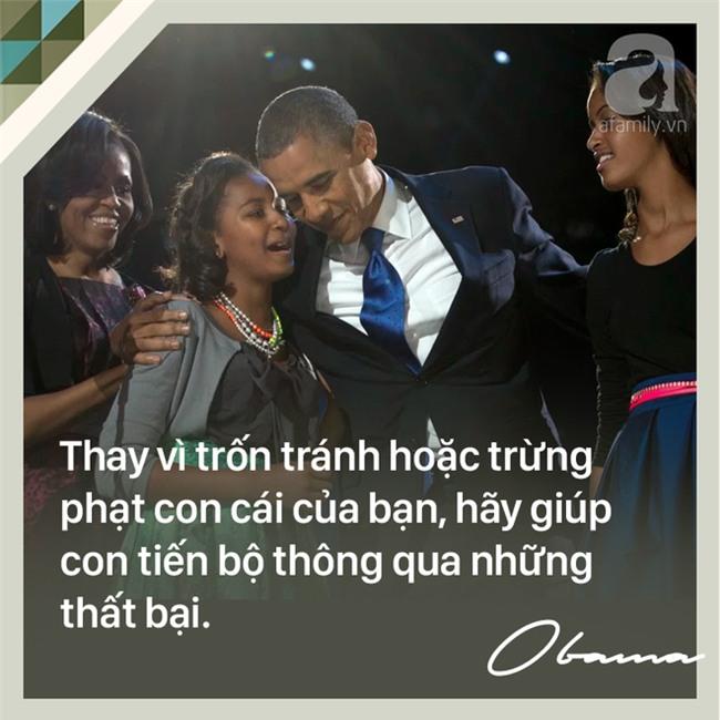 7 quy tắc nuôi dạy con trên cả tuyệt vời của cựu Tổng thống Mỹ Barack Obama các bố mẹ nên học tập - Ảnh 6.
