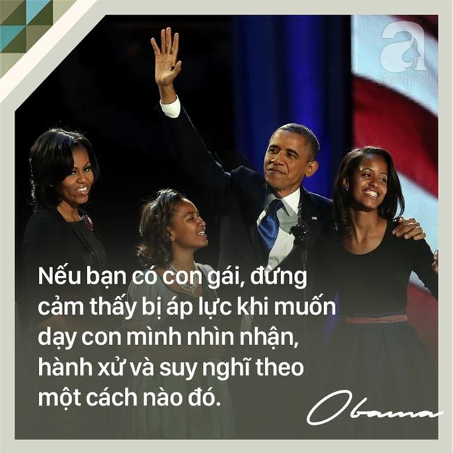 7 quy tắc nuôi dạy con trên cả tuyệt vời của cựu Tổng thống Mỹ Barack Obama các bố mẹ nên học tập - Ảnh 8.