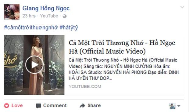Hồ Ngọc Hà cảnh báo Thanh Hằng không được đánh ghen khi xem MV mới của mình - Ảnh 11.
