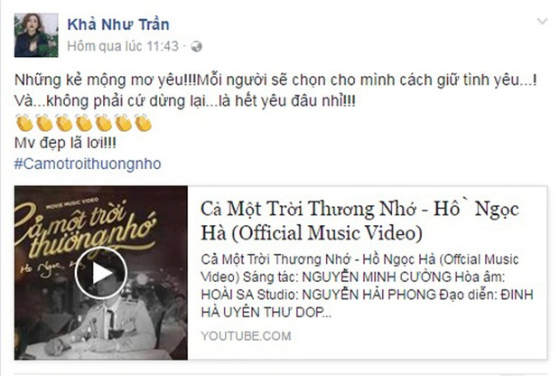 Hồ Ngọc Hà cảnh báo Thanh Hằng không được đánh ghen khi xem MV mới của mình - Ảnh 13.